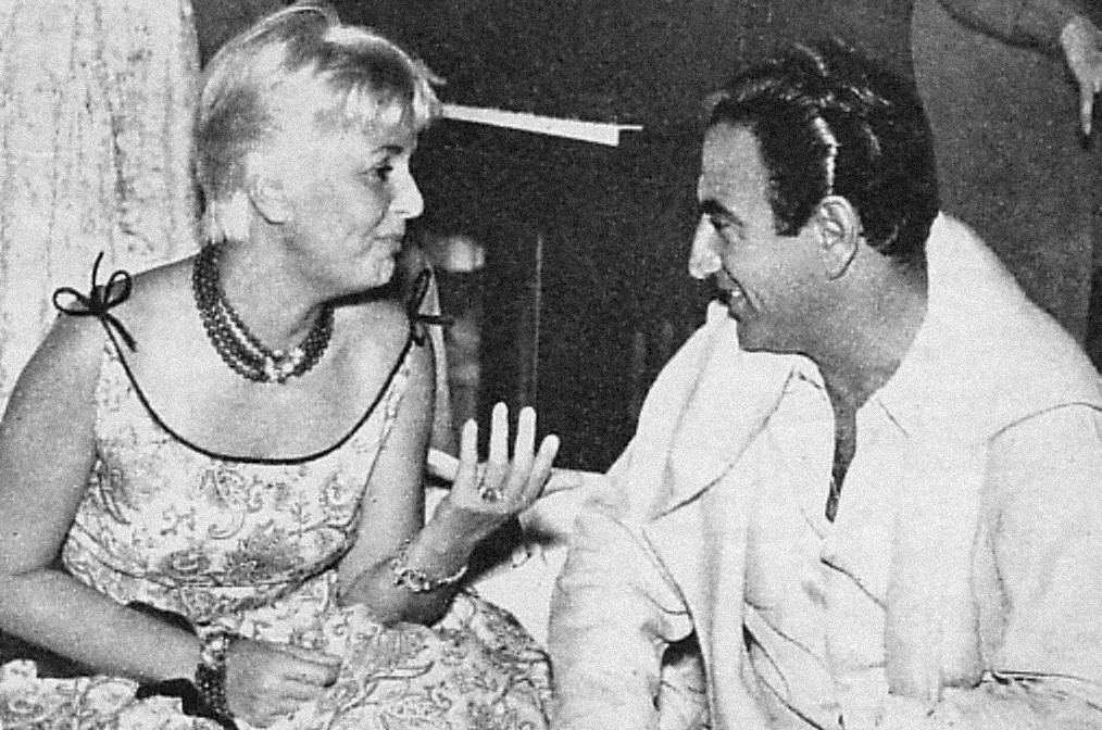 Ugo Calise ed Elena Giusti