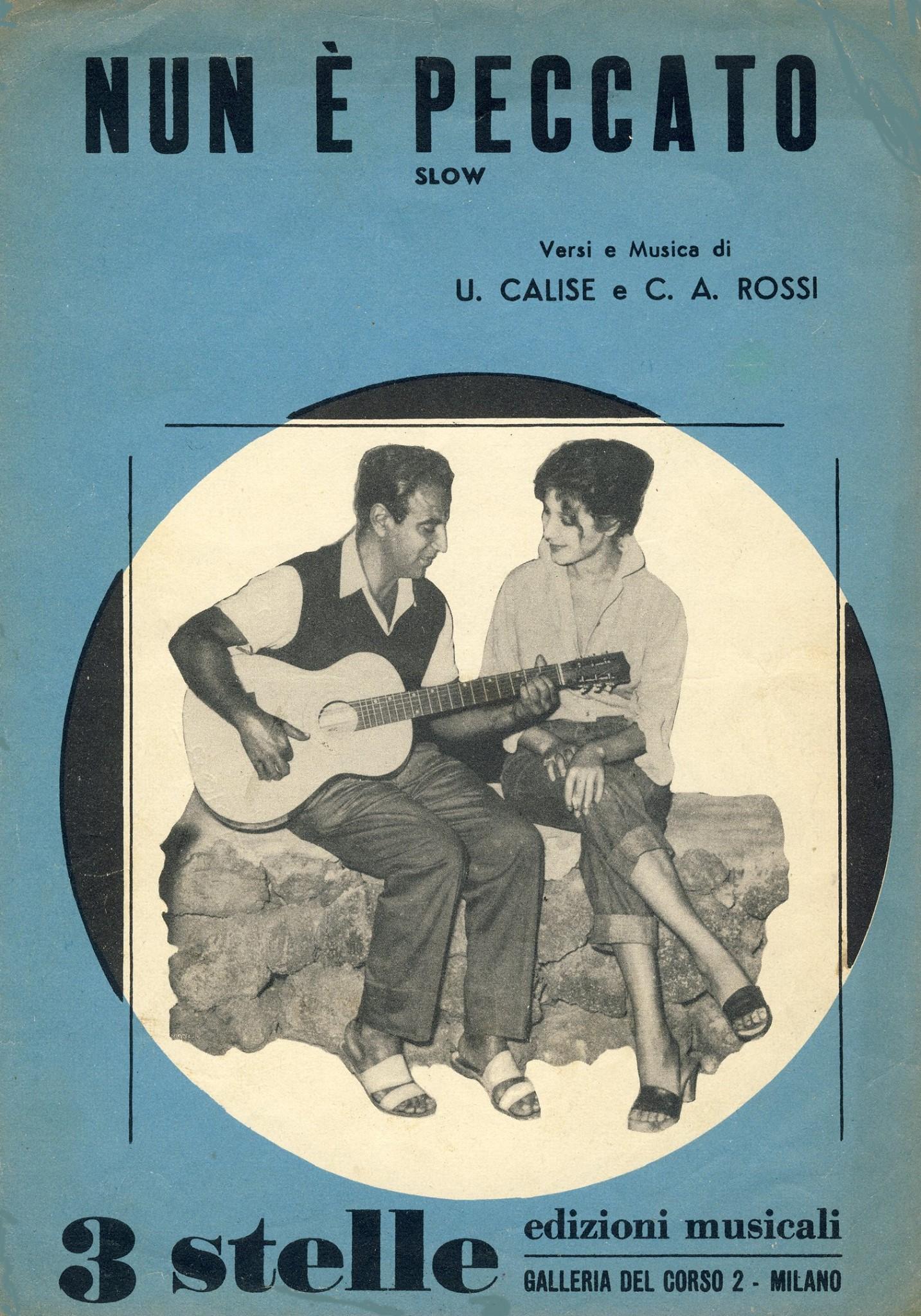 """""""Nun E' Peccato!"""" (1959). Edizioni 3 Stelle."""