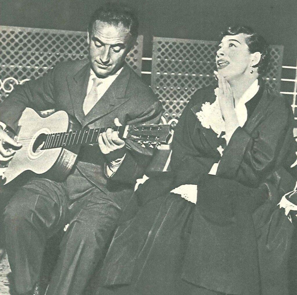 Ugo Calise con la cantante Katrin Ranieri