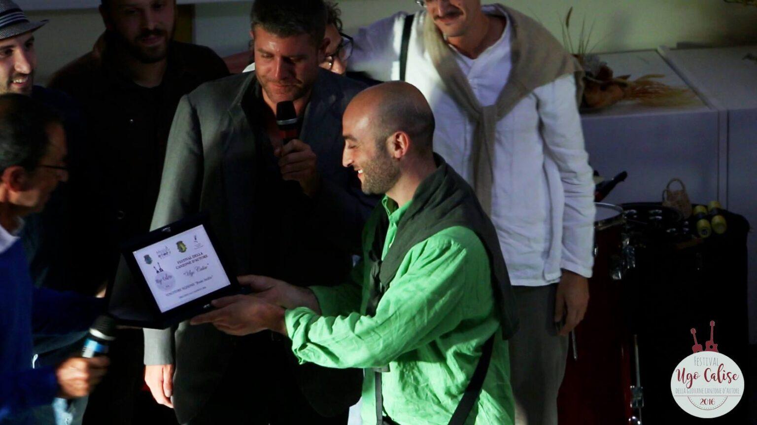 Emanuele Ammendola Premiato da Fulvio Calise