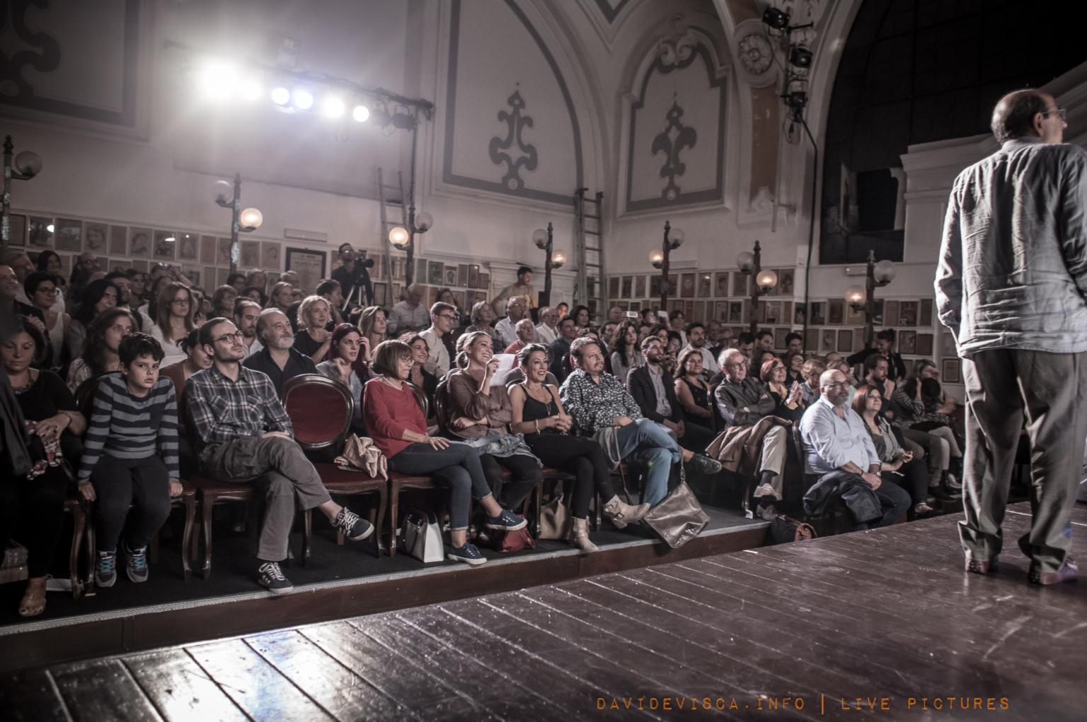 Premiazione al teatro Bellini Di Napoli
