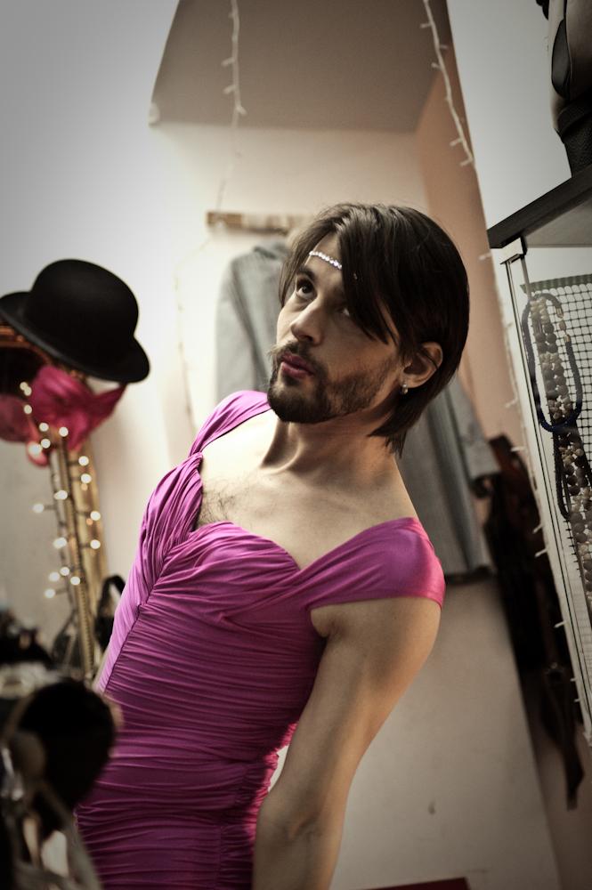 La Moda Del Ritorno back Stage