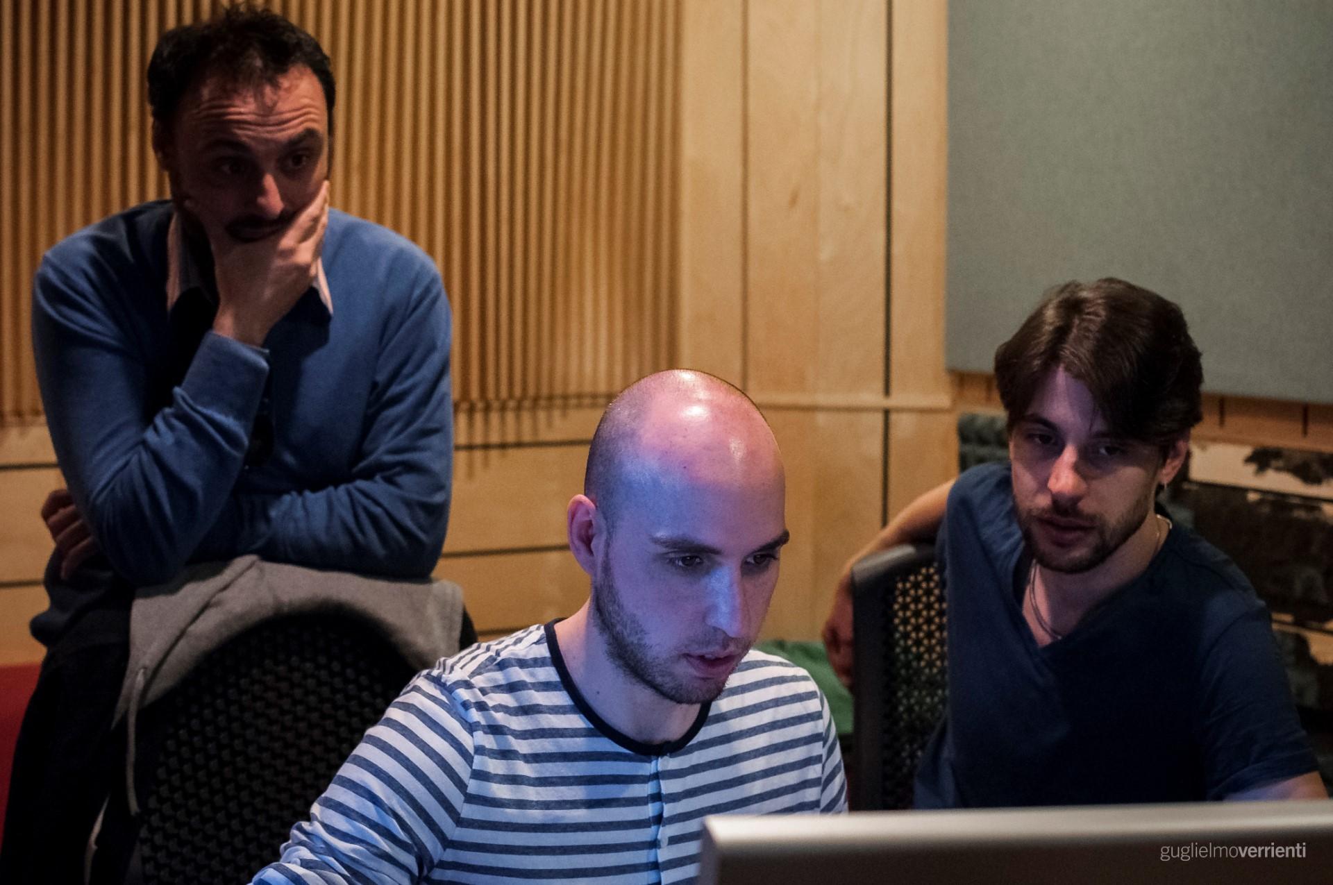 Back Stage Studio Francesco Di Bella Feat GiovannIi Block100