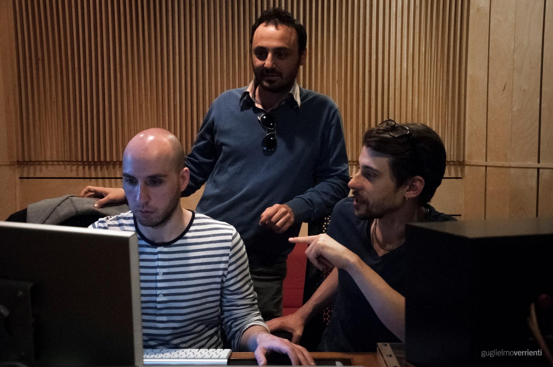 Back Stage Studio Francesco Di Bella Feat GiovannIi Block104
