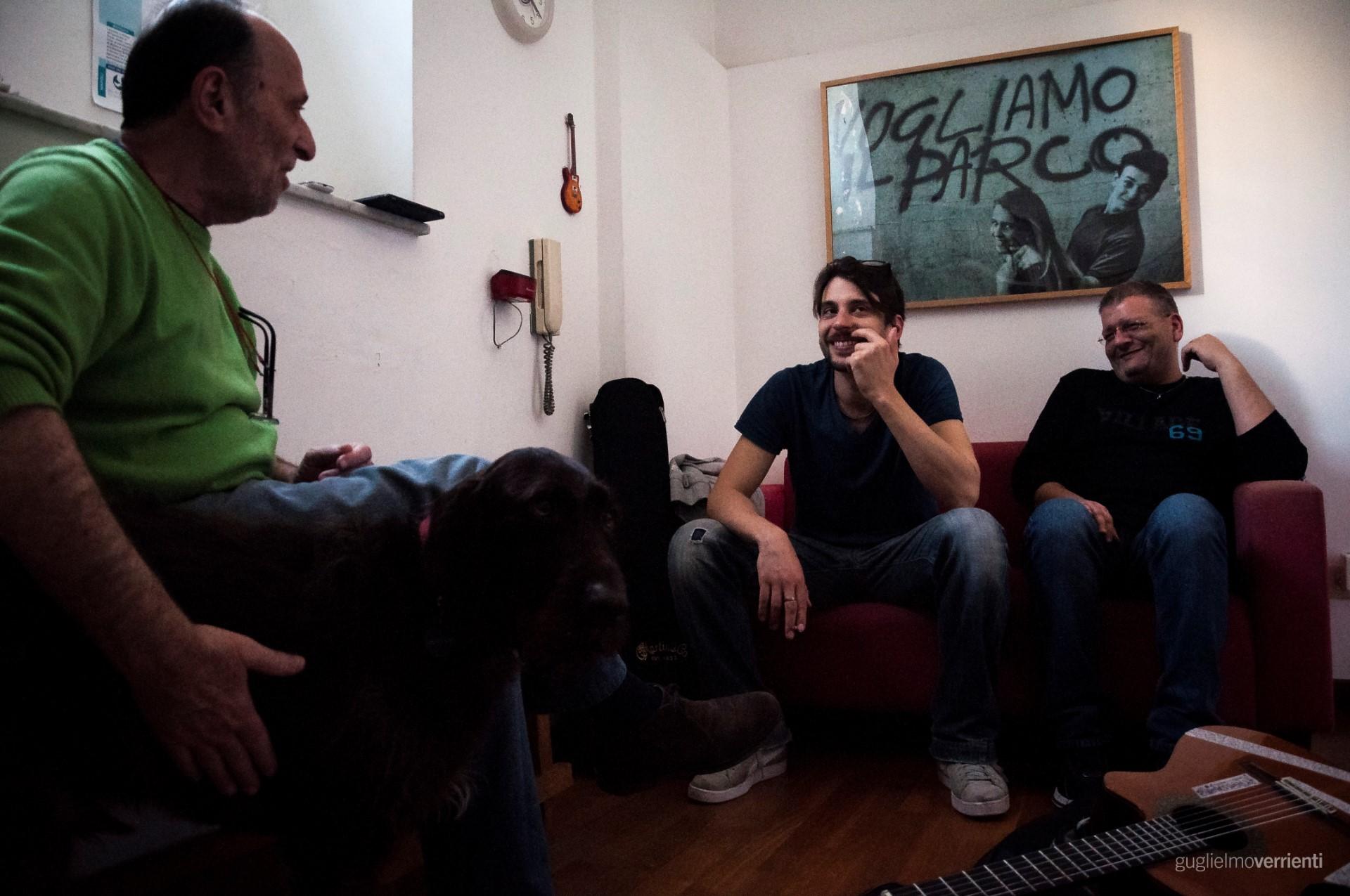 Back Stage Studio Francesco Di Bella Feat GiovannIi Block106