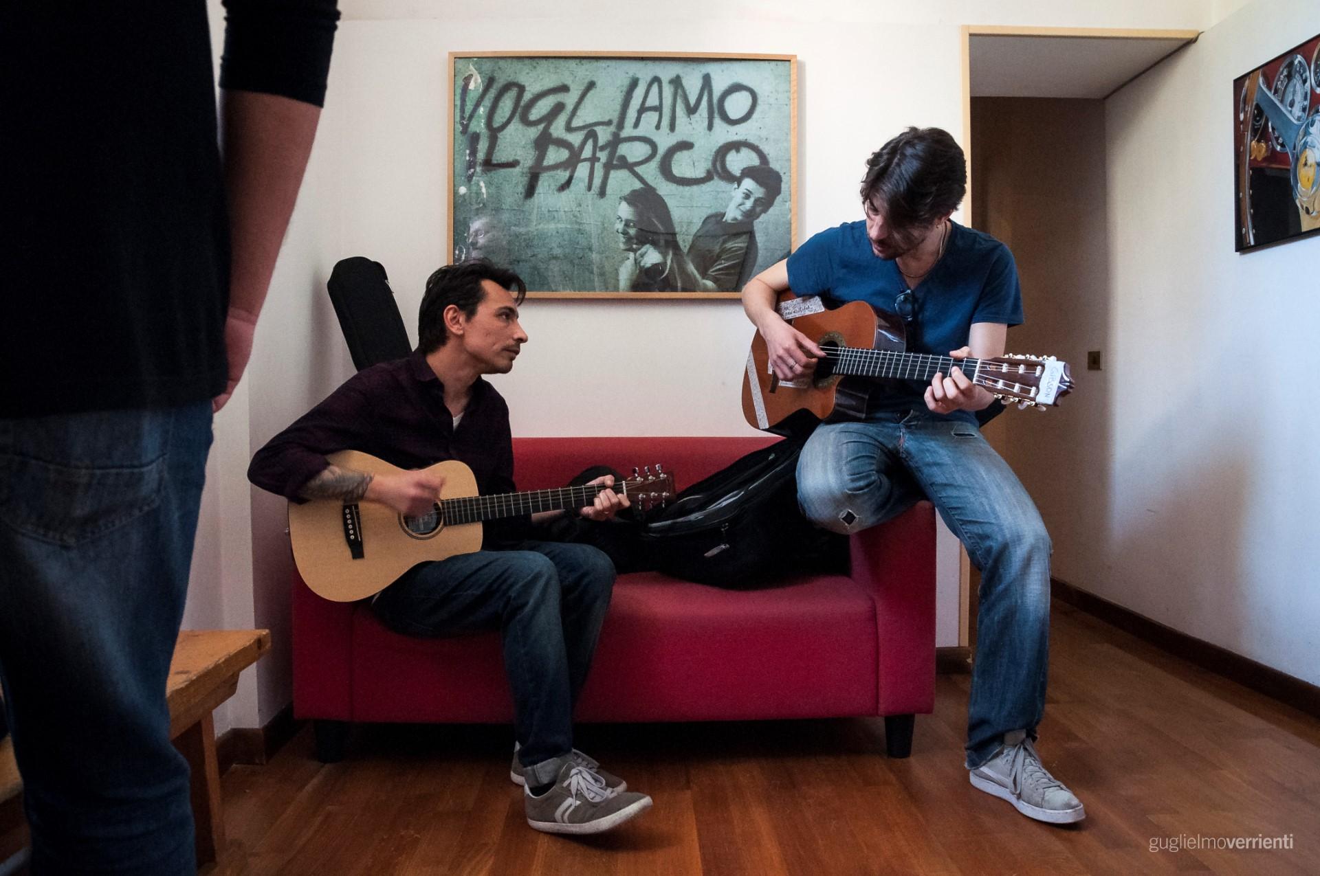 Back Stage Studio Francesco Di Bella Feat GiovannIi Block12