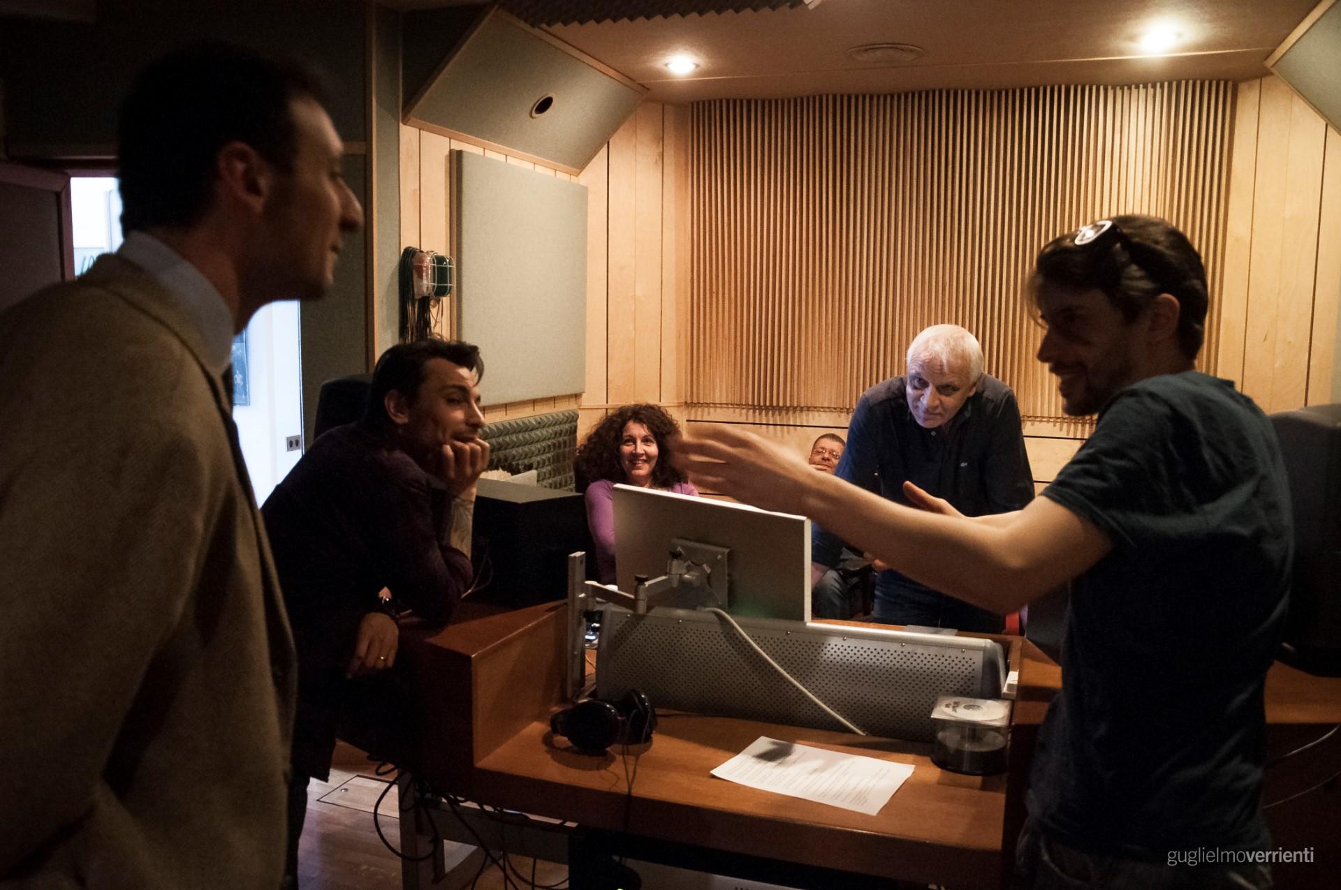 Back Stage Studio Francesco Di Bella Feat GiovannIi Block17