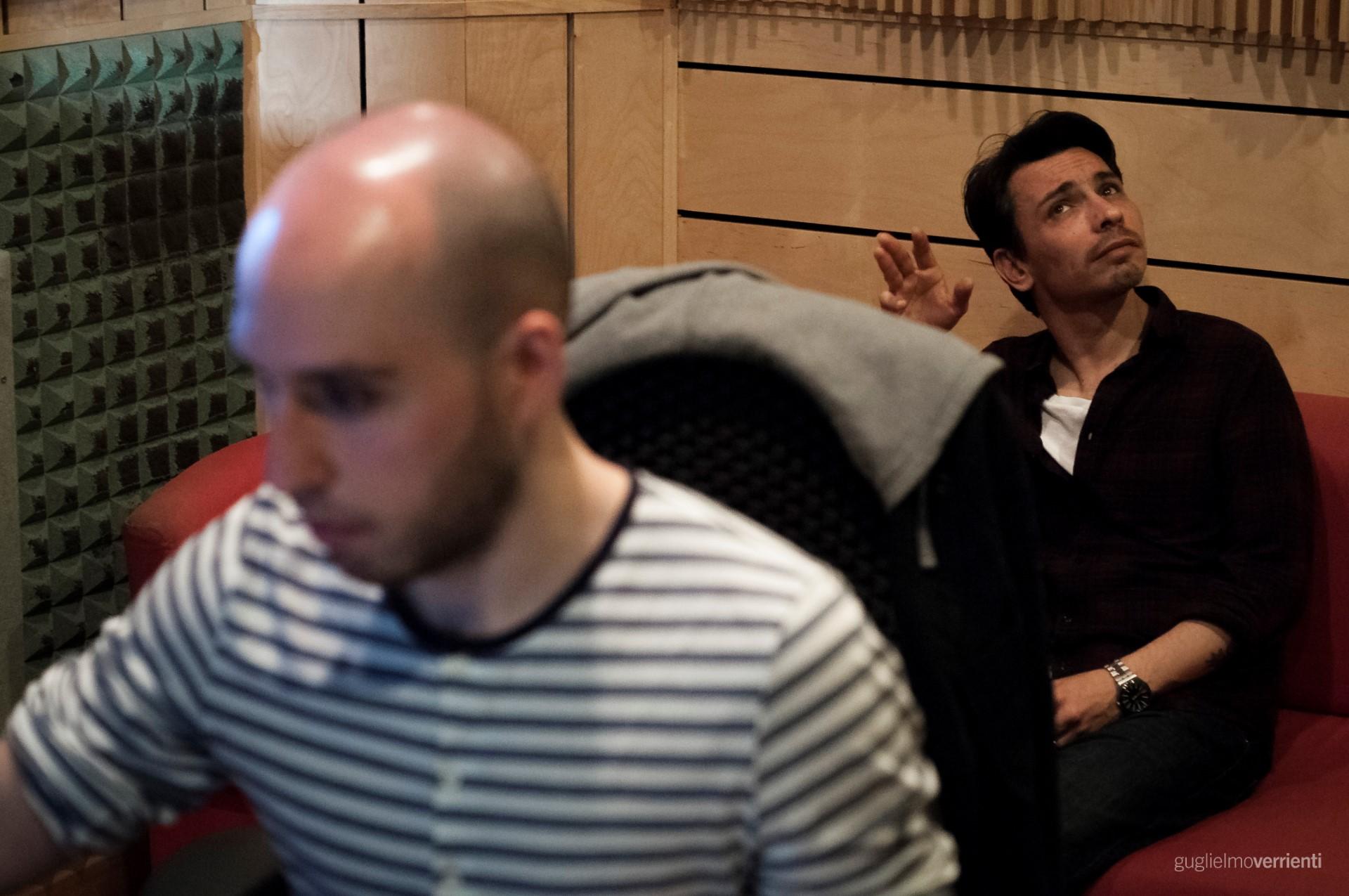 Back Stage Studio Francesco Di Bella Feat GiovannIi Block95