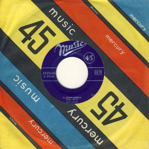 45 giri di Ugo Calise del 1958