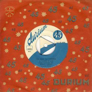 45 giri del 1958 di Roberto Murolo