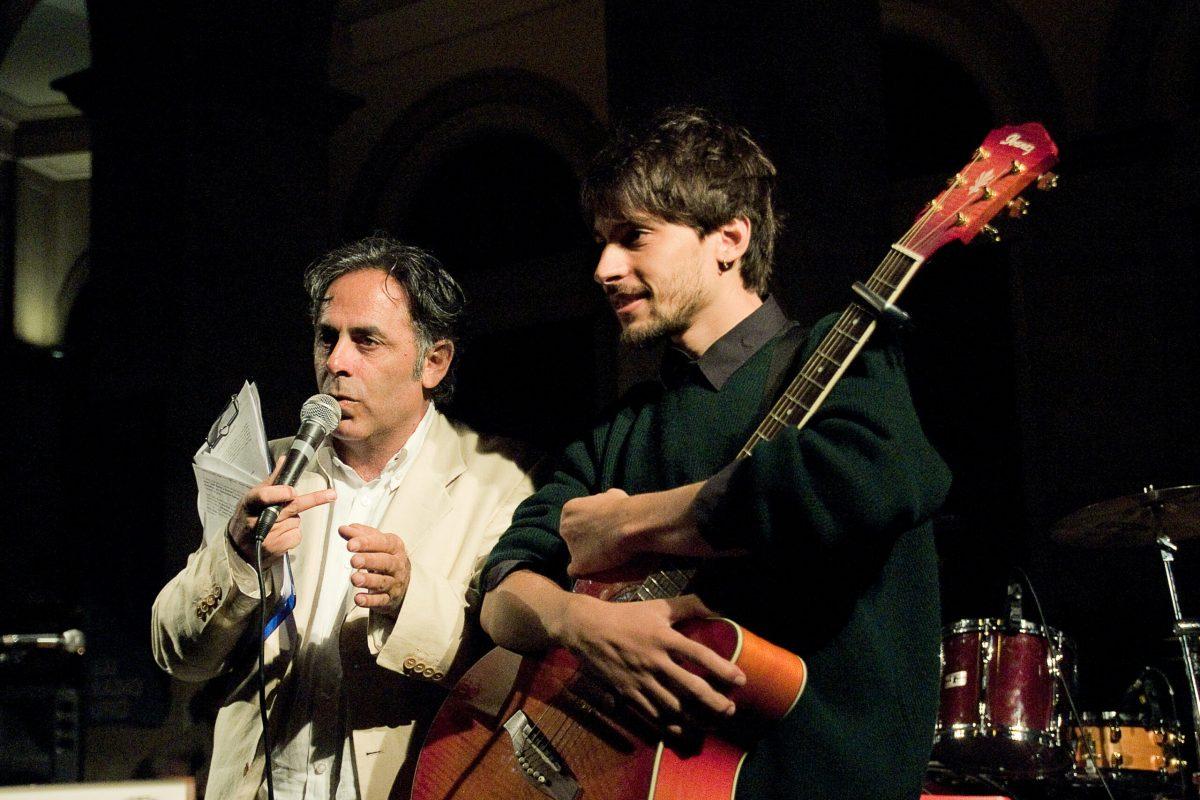 Gianmaurizio Foderaro con Giovanni Block