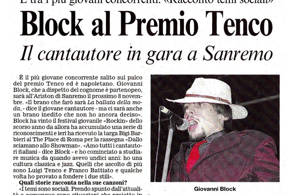 Premio Tenco 2007