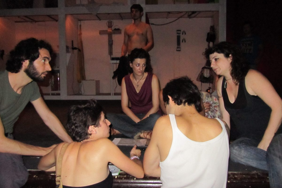 Faust - Back Stage Compagnia
